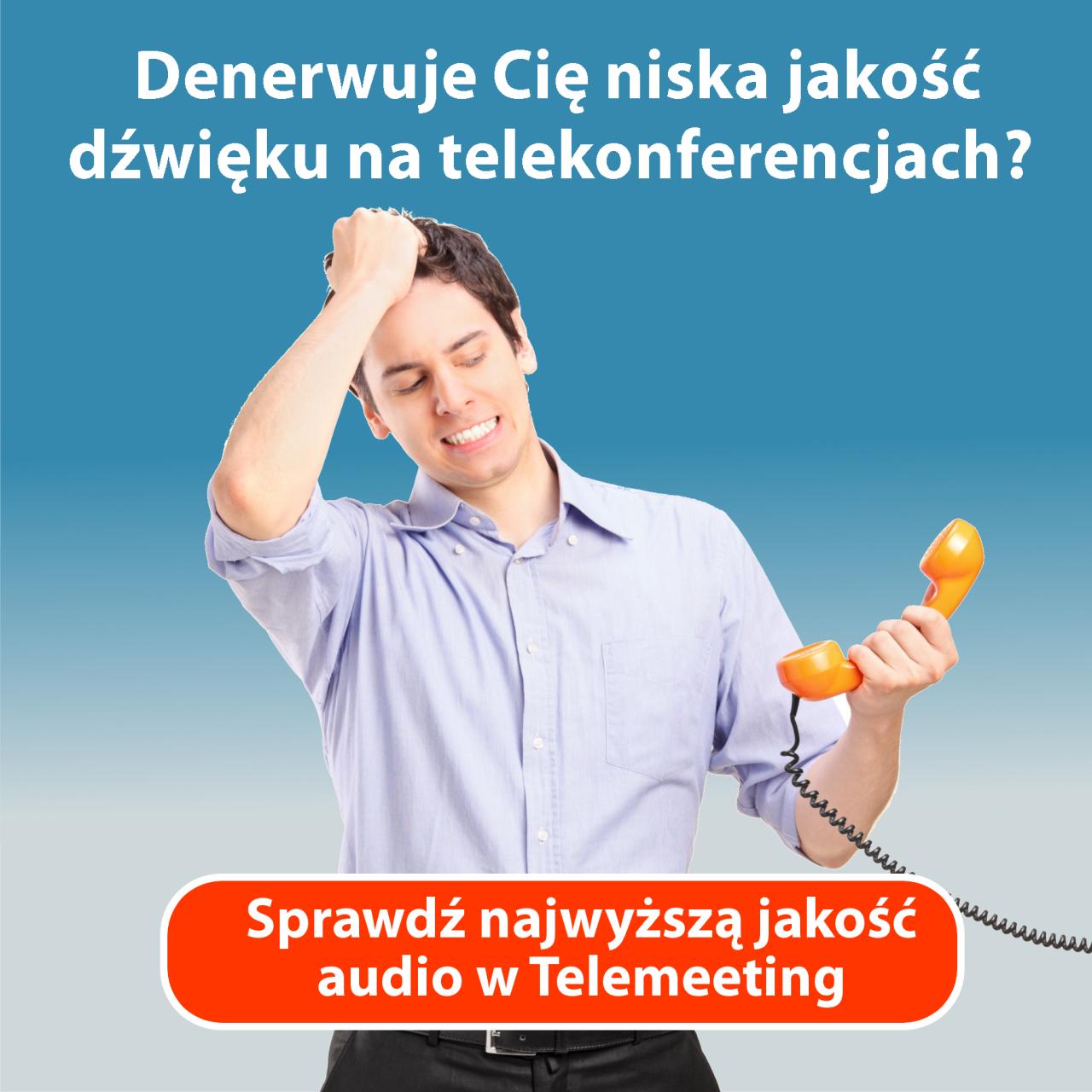 Telekonferencja - jak zorganizować telekonferencję? Banner