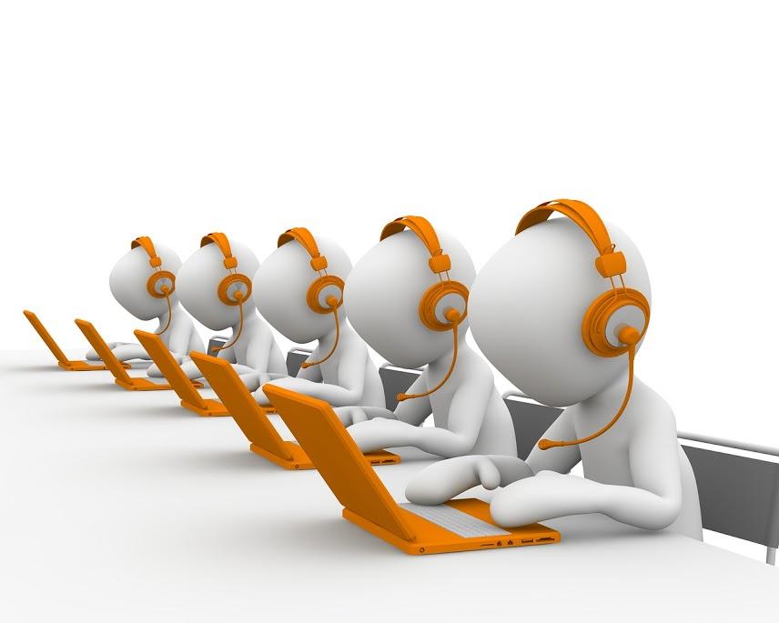 VoIP call center