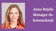 Anna Bujała PR manager