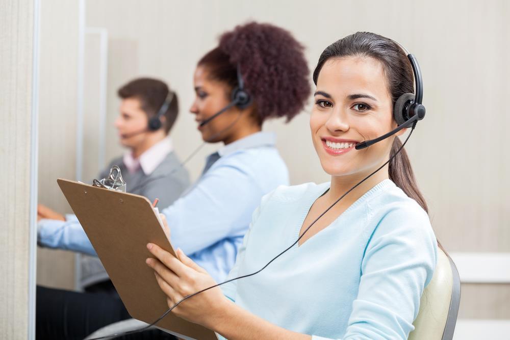 call center w nowoczesnej firmie